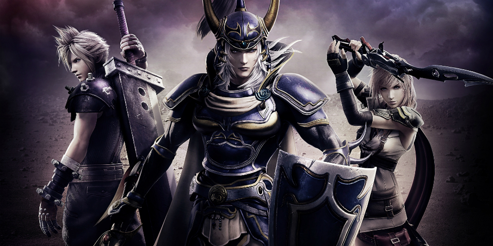 Dissidia Final Fantasy NT megaslide
