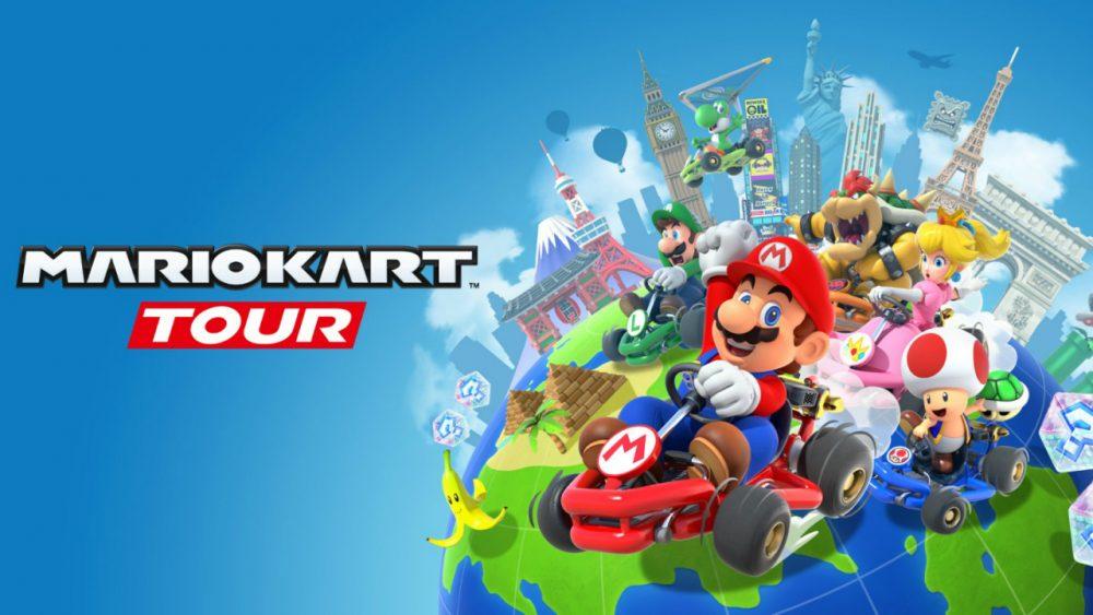 Mario Kart Tour banner scheda