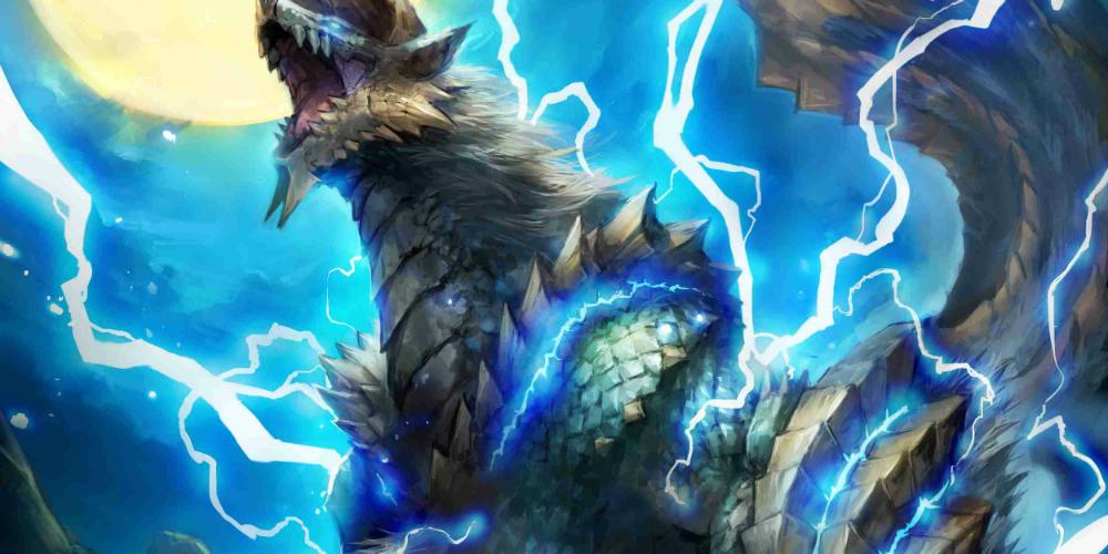 Monster Hunter Zinogre megaslide