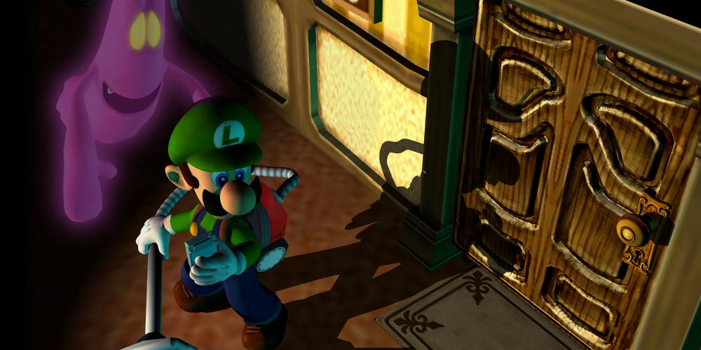 Luigi's Mansion banner megaslide
