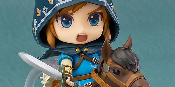 The Legend of Zelda: Breath of the Wild Nendoroid Link banner
