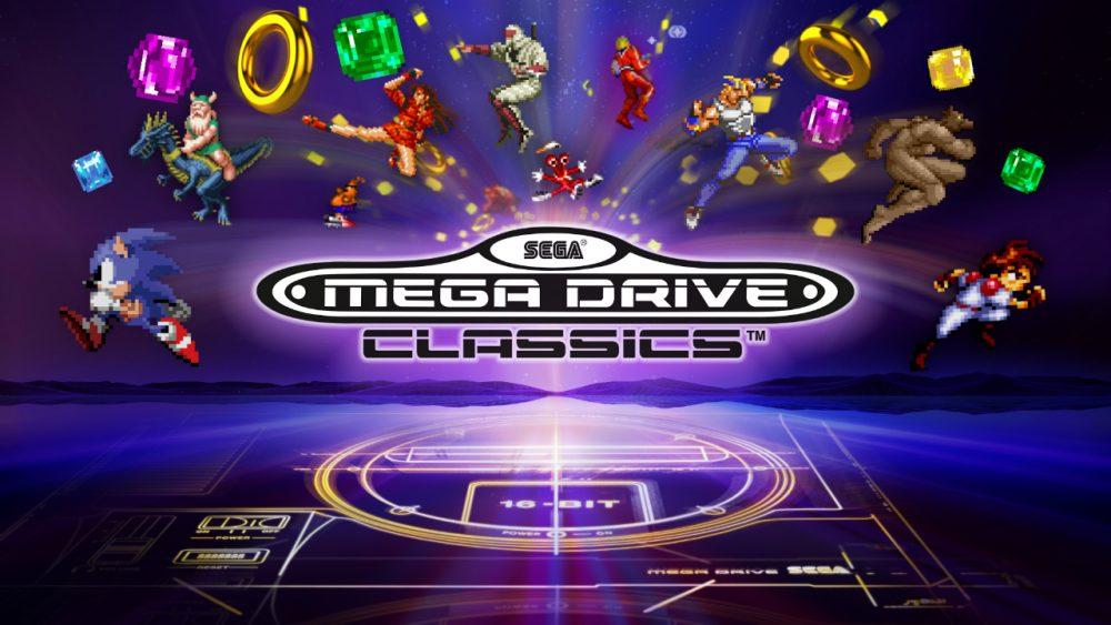 SEGA Mega Drive Classics banner scheda