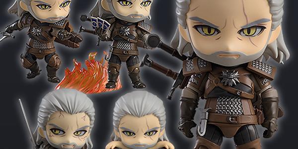 The Witcher 3: Wild Hunt Nendoroid Geralt banner
