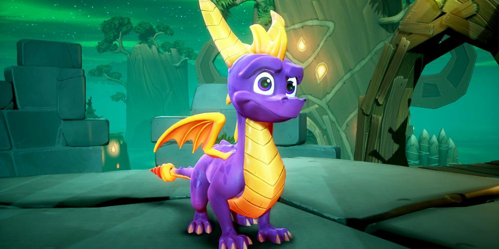 Spyro Reignited Trilogy banner megaslide