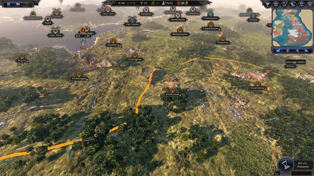A Total War Saga: Thrones of Britannia screenshot
