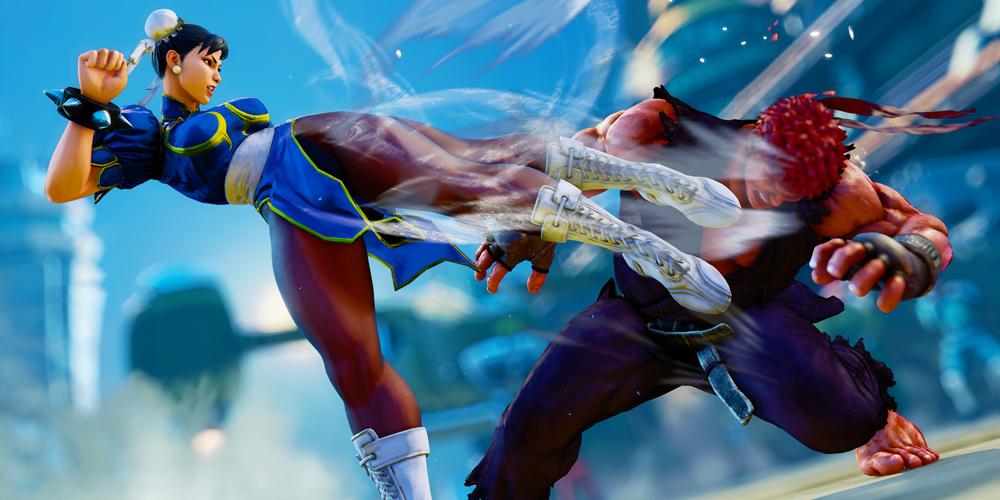 Street Fighter V megaslide