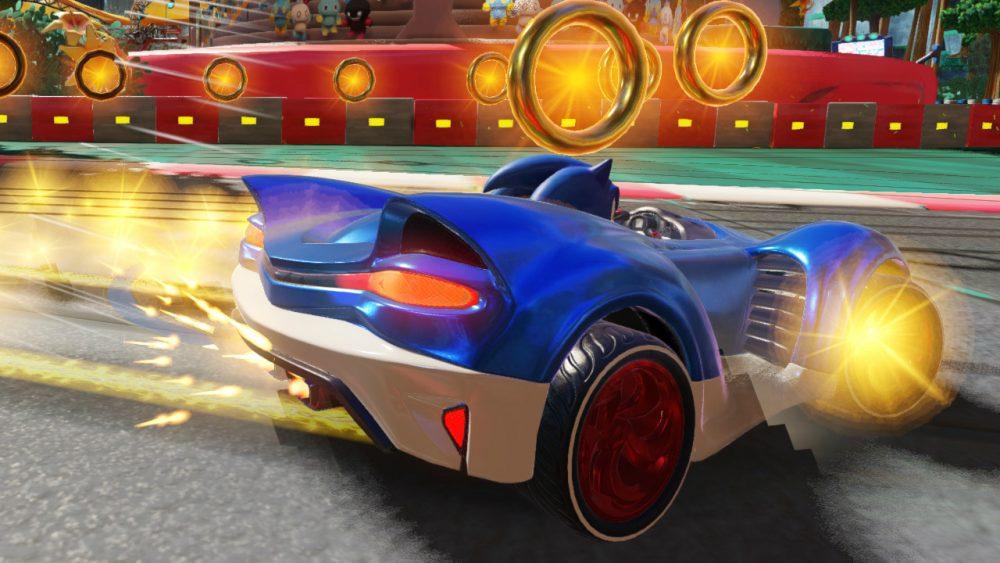Team Sonic Racing banner scheda