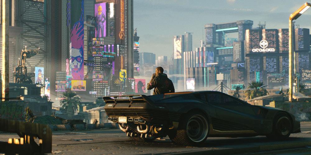 Cyberpunk 2077 banner megaslide