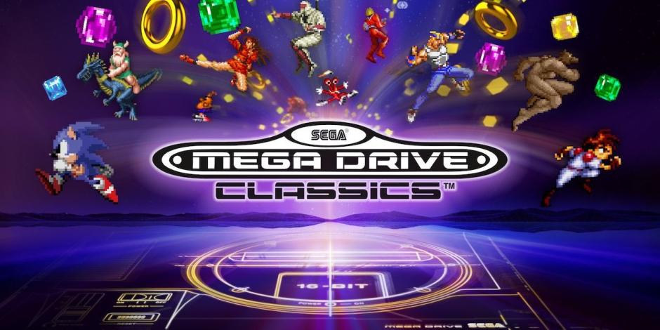 SEGA Mega Drive Classics megaslide