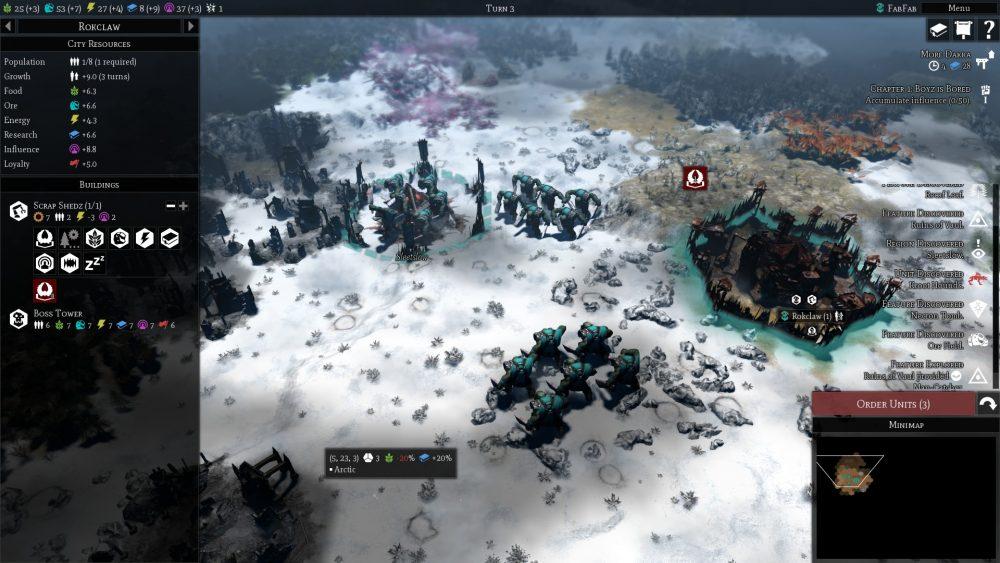 Warhammer 40,000: Gladius - Relics of War screenshot