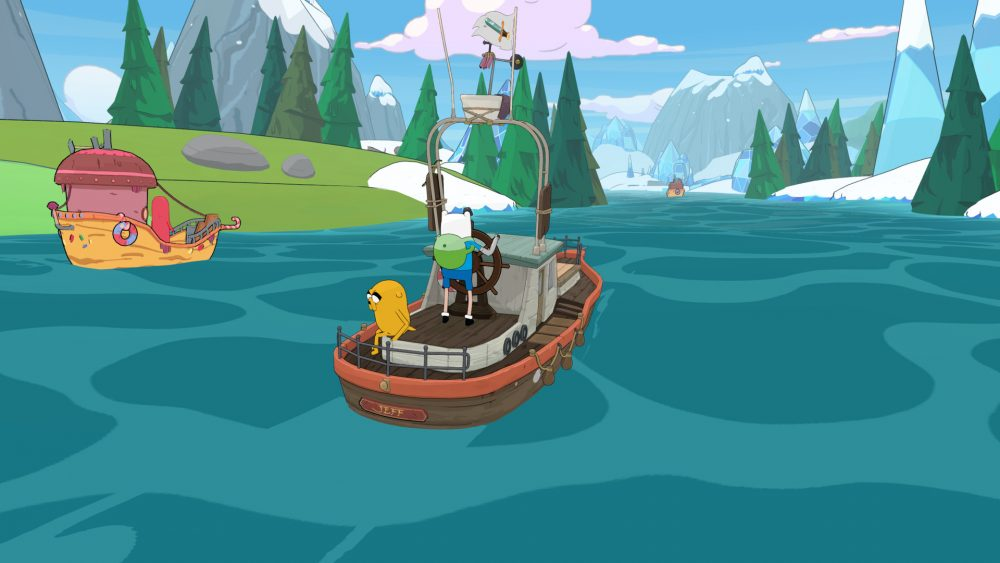 Adventure Time I pirati dell'Enchiridion screenshot
