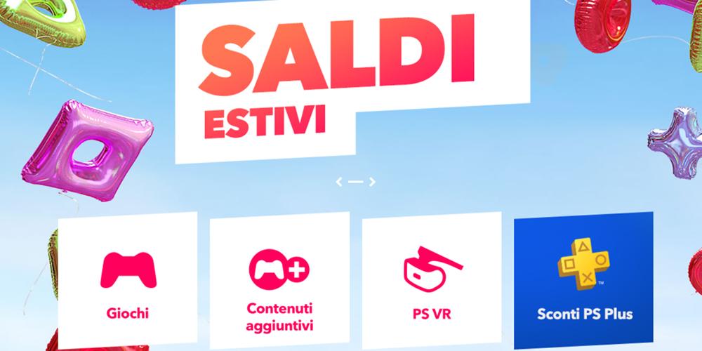 PlayStation Stroe Saldi Estivi 2018 megaslide