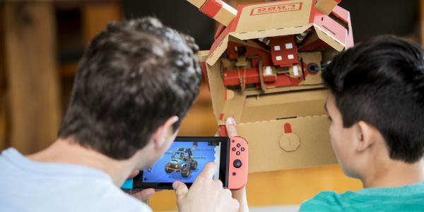 Nintendo Labo Toy-Con 03: Kit veicoli banner