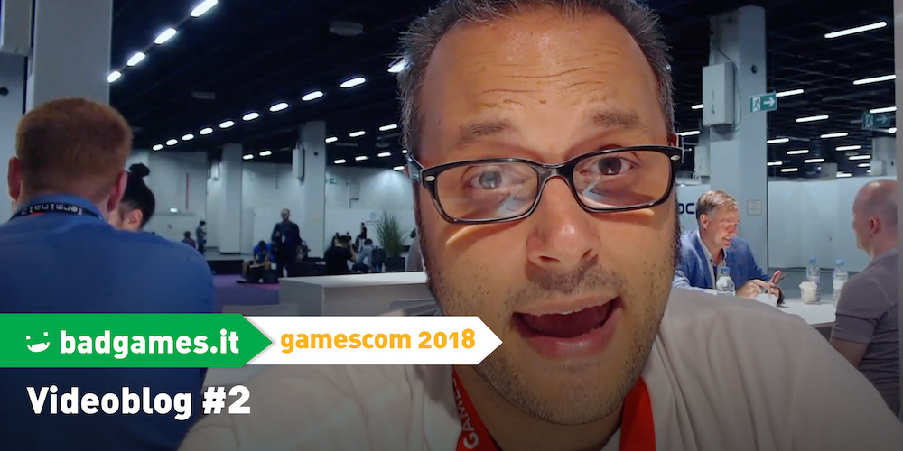 gamescom 2018 videoblog #2 megaslide
