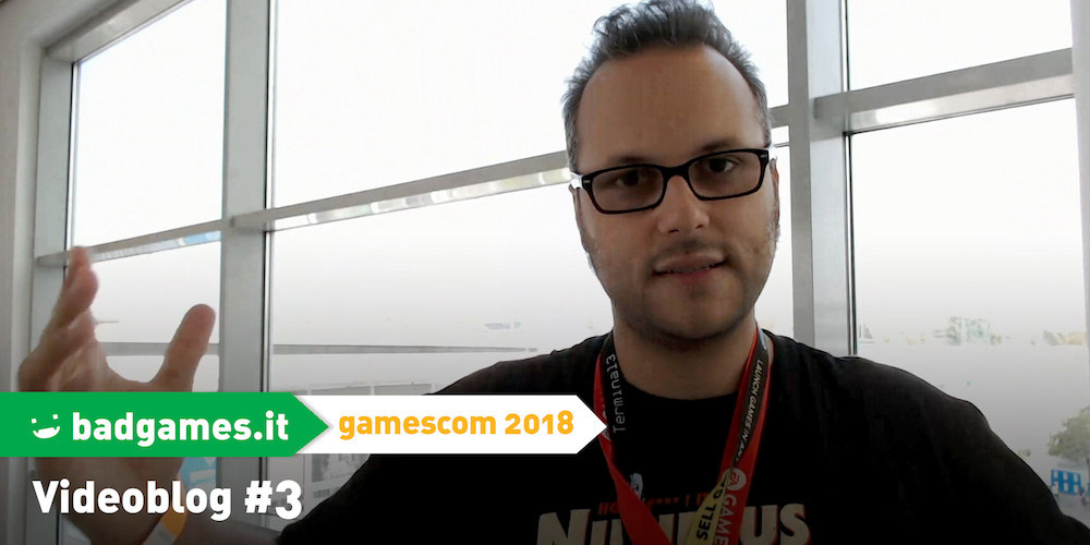gamescom 2018 videoblog #3 megaslide