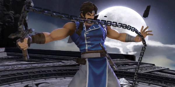 Super Smash Bros. Ultimate Richter banner