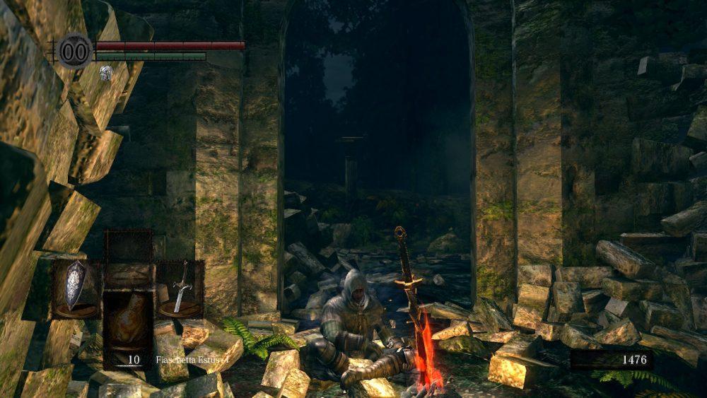 Dark Souls Remastered screenshot Switch