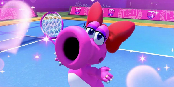 Mario Tennis Aces Strutzi banner