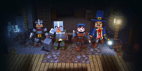 Minecraft: Dungeons banner