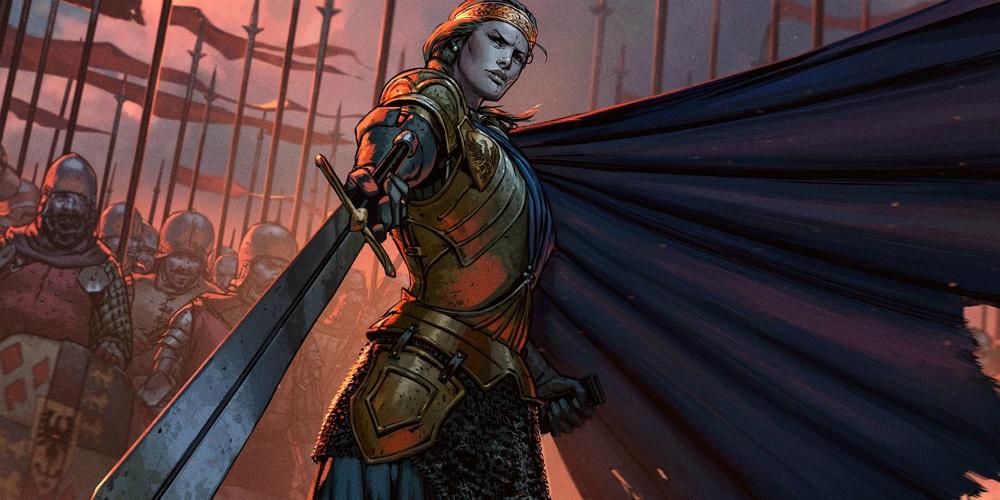 Thronebreaker: The Witcher Tales banner megaslide