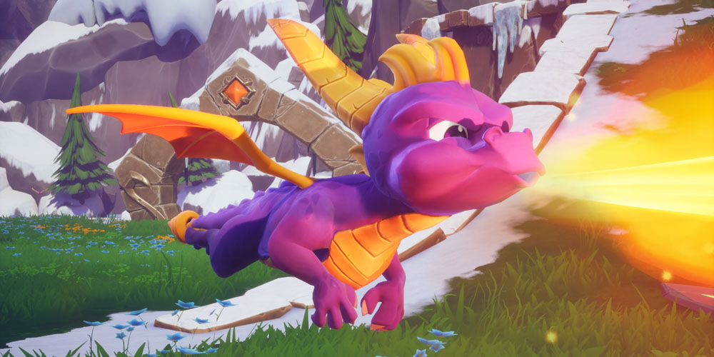 Spyro Reignited Trilogy banner