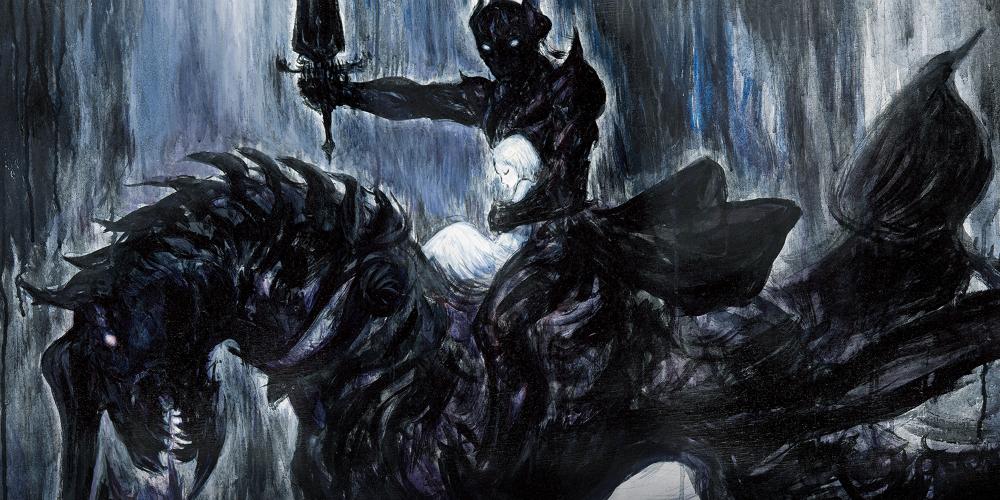Final Fantasy XIV Shadowbringers banner megaslide