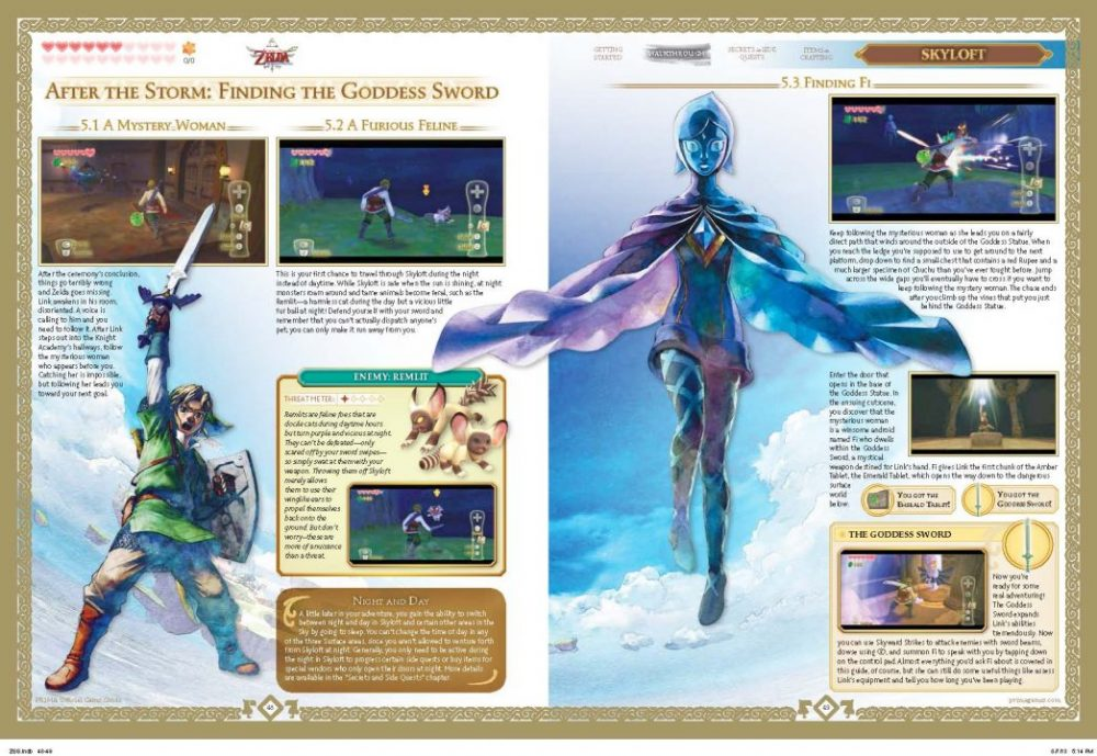 Prima Games The Legend of Zelda: Skyward Sword