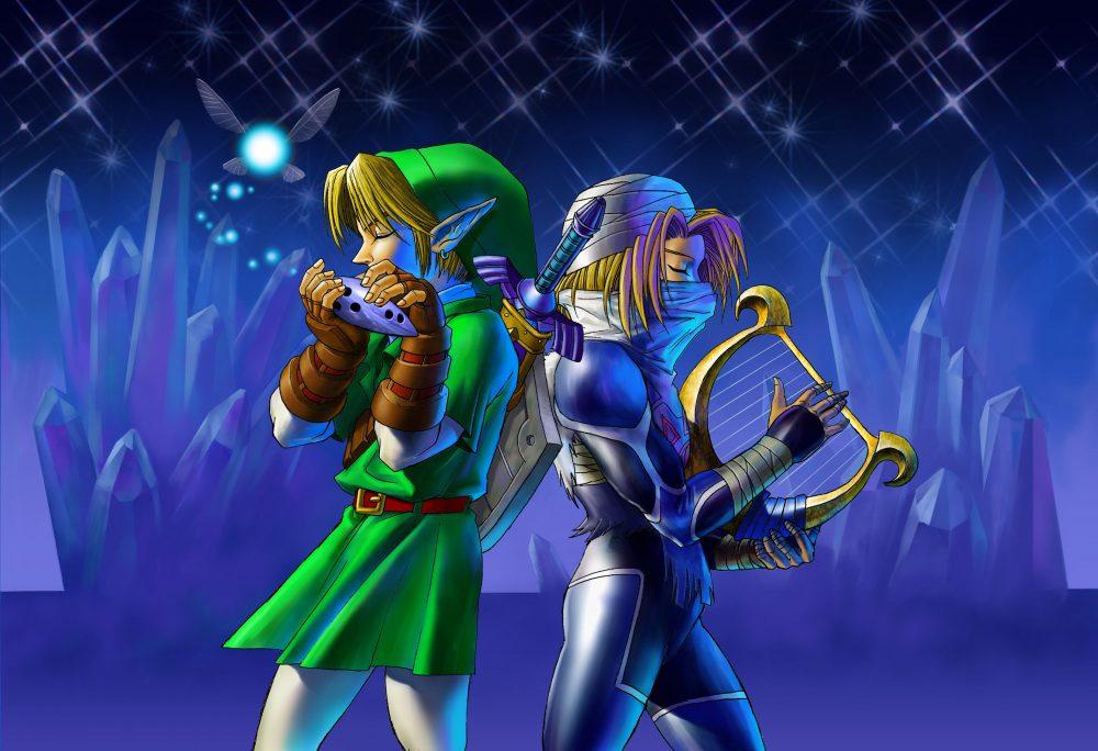 The Legend of Zelda: Ocarina of Time artwork
