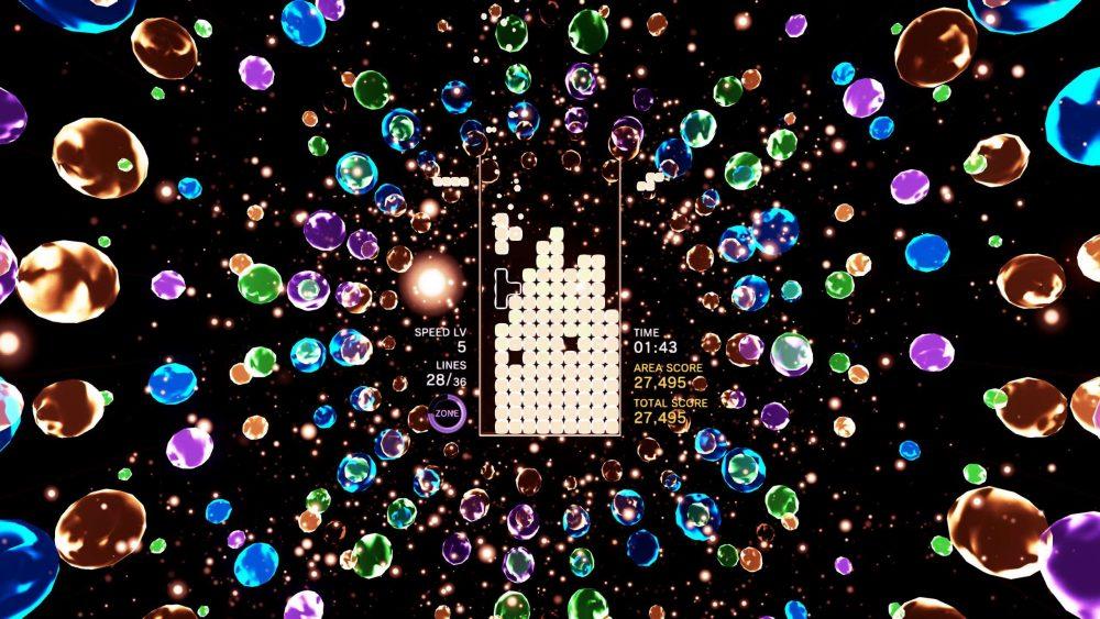 Tetris Effect screenshot