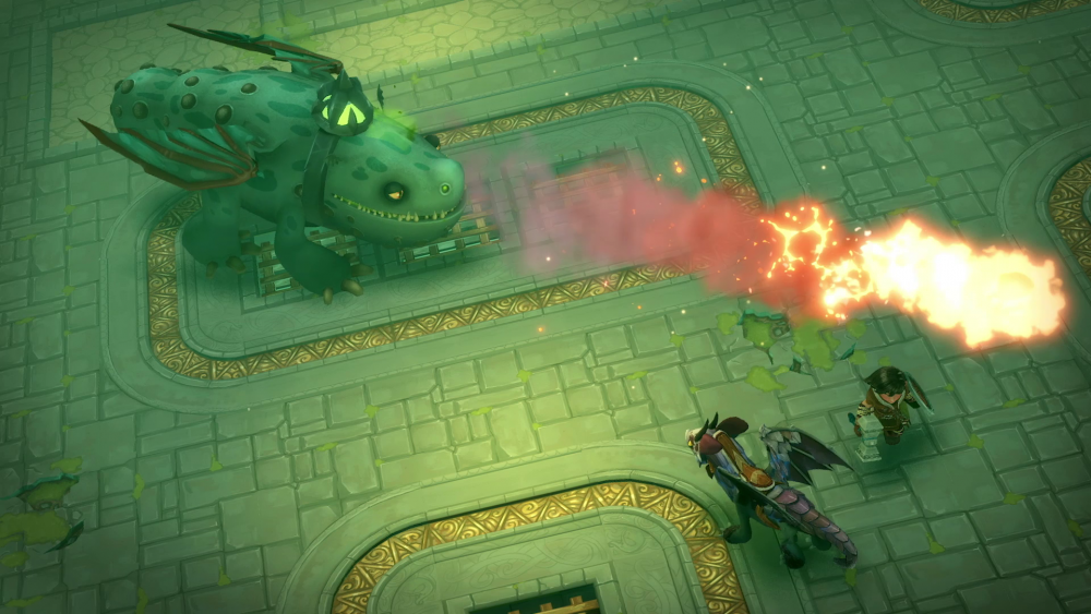 Dragons: L'Alba dei Nuovi Cavalieri screenshot