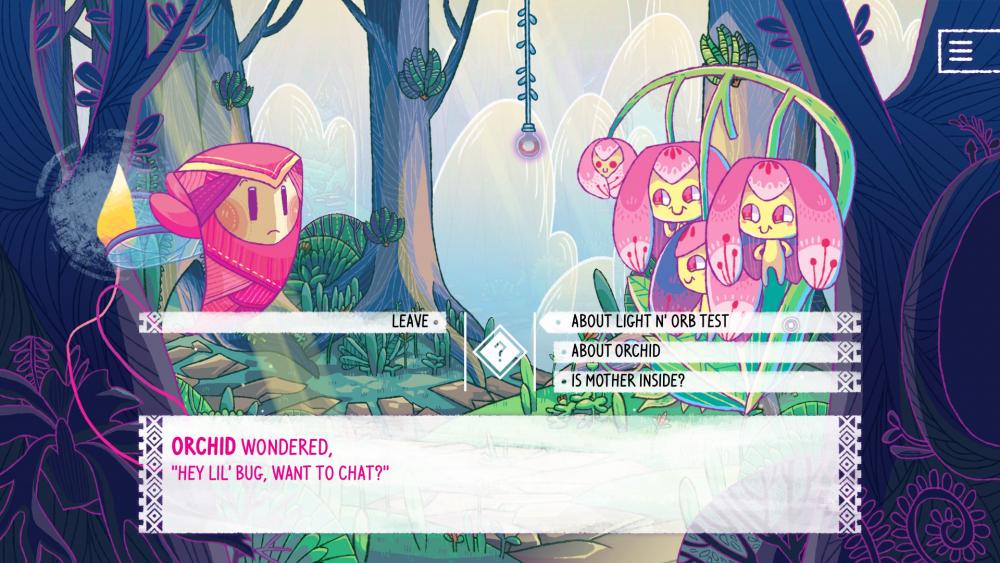 She and the Light Bearer screenshot