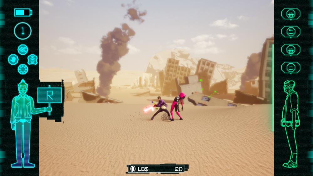 Travis Strikes Again No More Heroes screenshot
