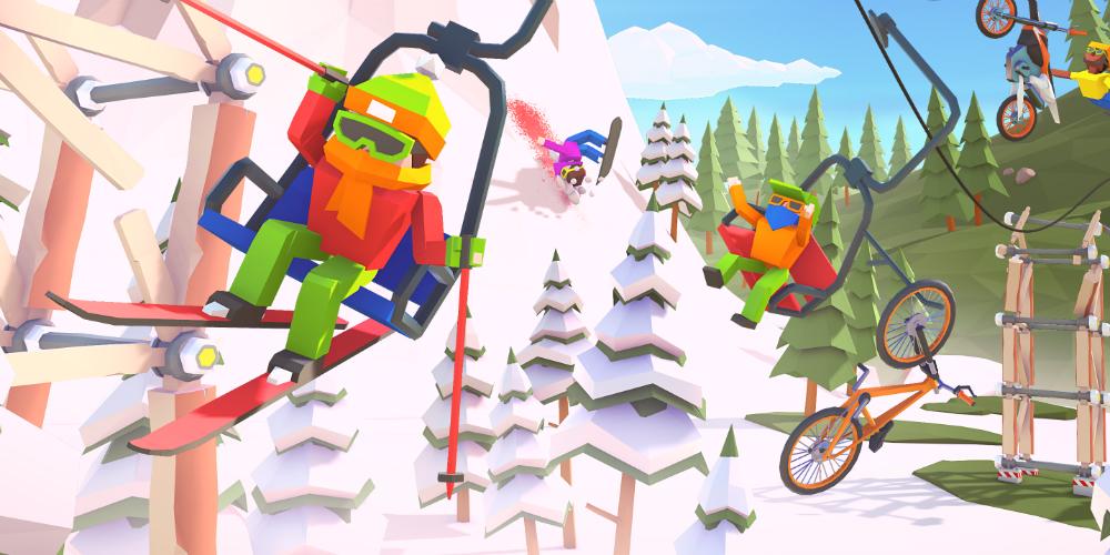 When Ski Lifts Go Wrong megaslide