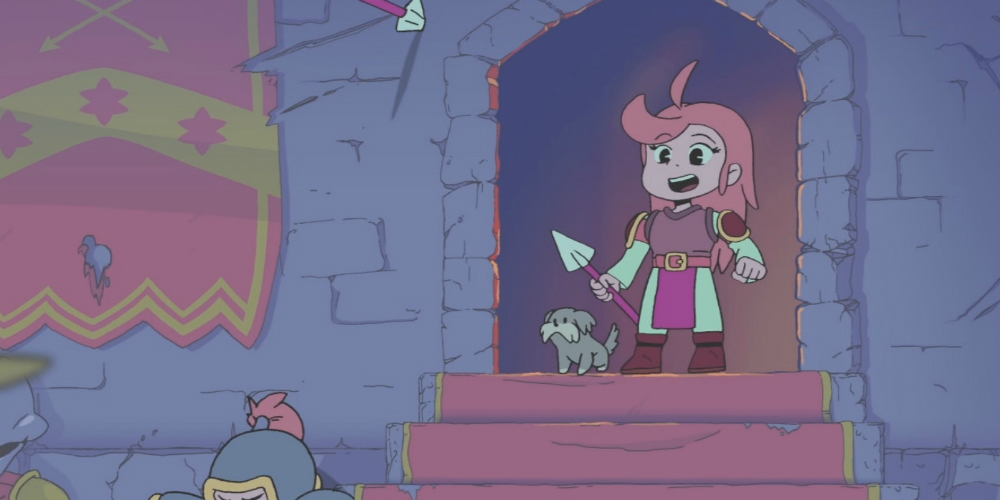 Battle Princess Madelyn megaslide