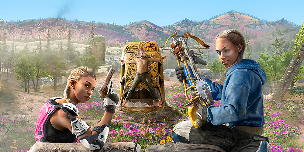 Far Cry New Dawn megaslide