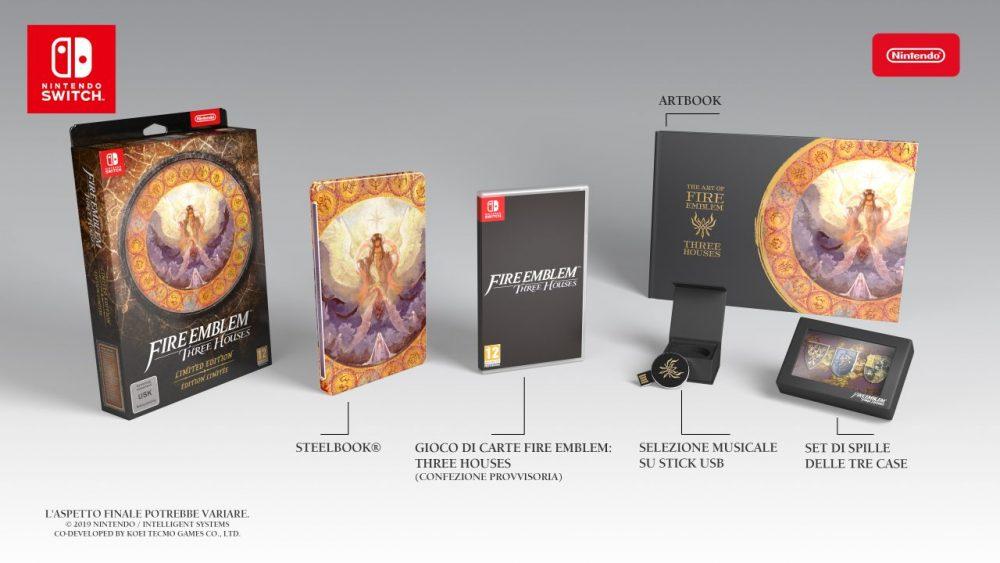 Fire Emblem: Three Houses edizione limitata