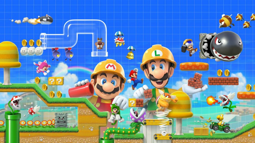 Super Mario Maker 2 banner scheda