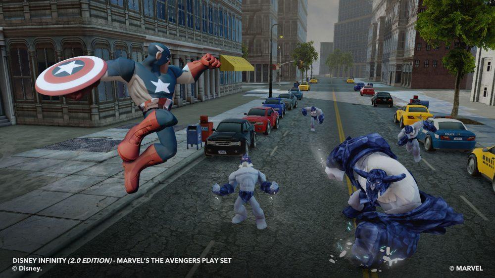 Disney Infinity Marvel Super Heroes screenshot