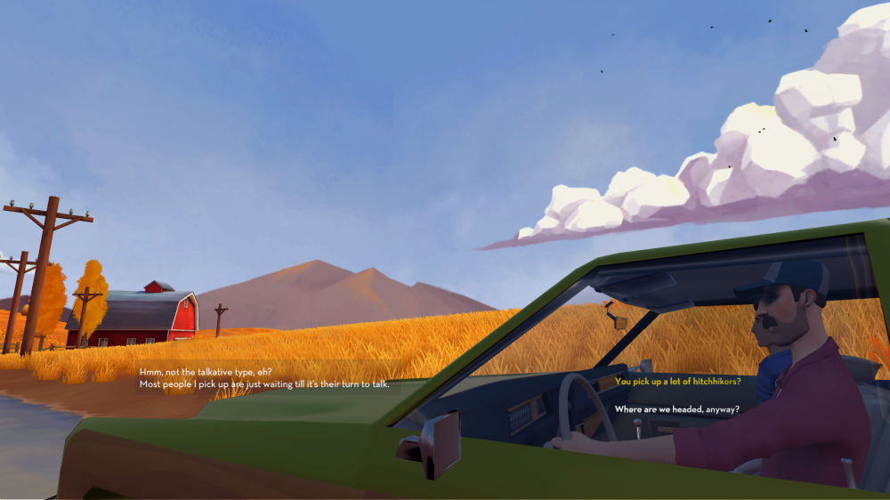 Hitchhiker screenshot