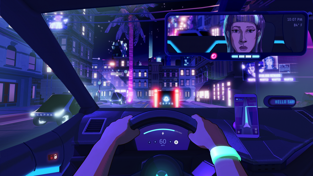 Neo Cab screenshot