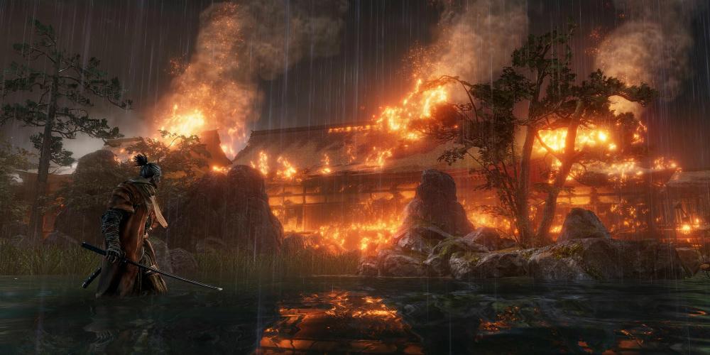 Sekiro: Shadows Die Twice megaslide