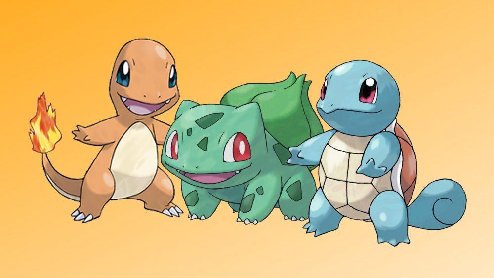 Pokémon starter