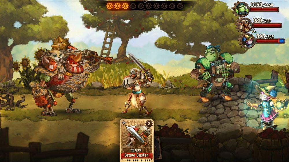 SteamWorld Quest Hand of Gilgamech screenshot