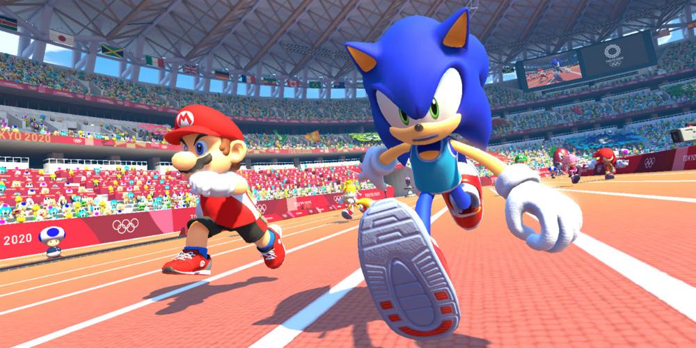 Mario & Sonic ai Giochi Olimpici di Tokyo 2020 banner