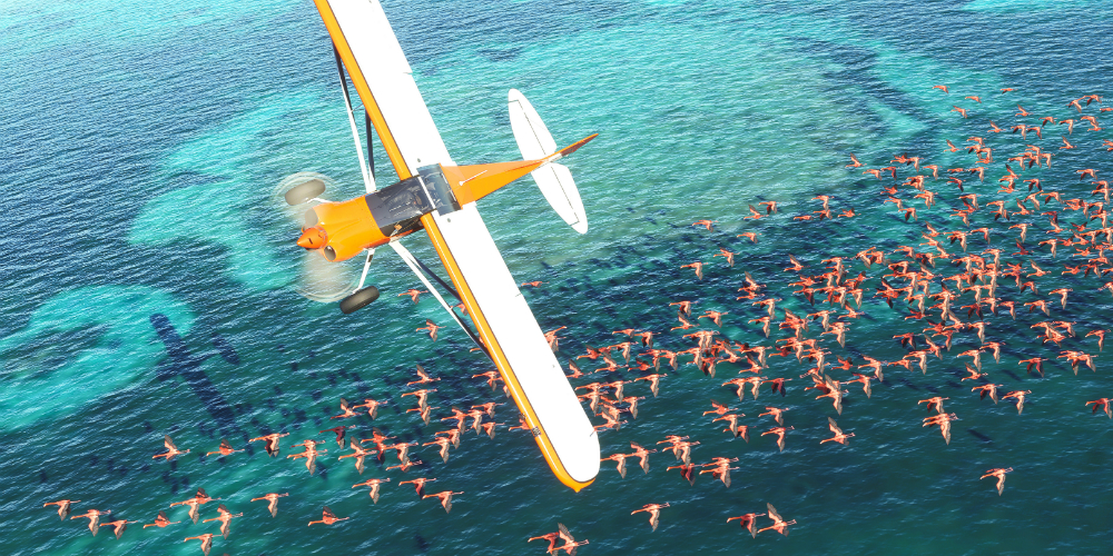 Microsoft Flight Simulator banner