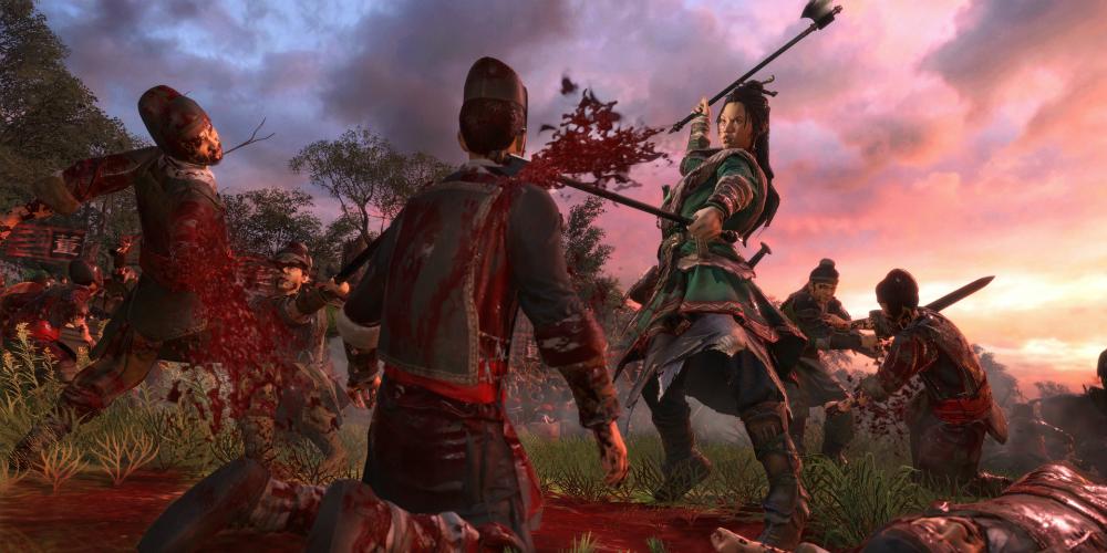 Total War: Three Kingdoms Reign of Blood banner