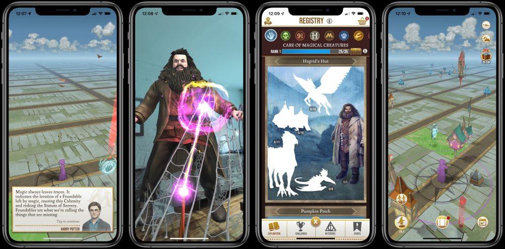 Harry Potter Wizard Unite screenshot