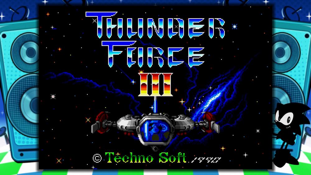 SEGA Mega Drive Mni Thunder Force III