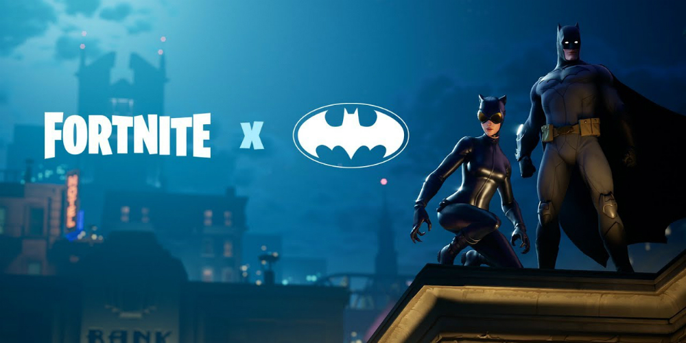 Fortnite Batman banner