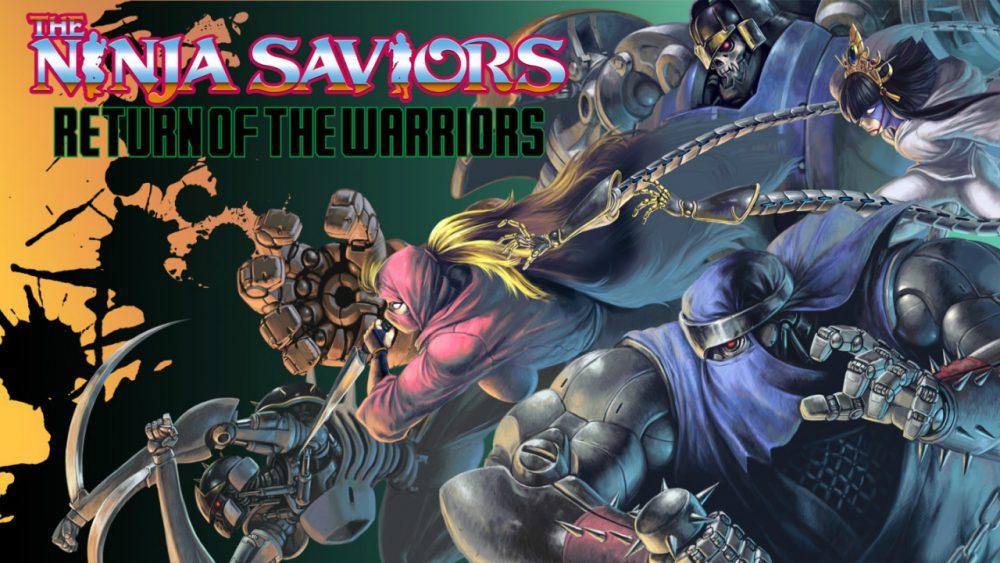 The Ninja Saviors: Return of the Warriors banner scheda